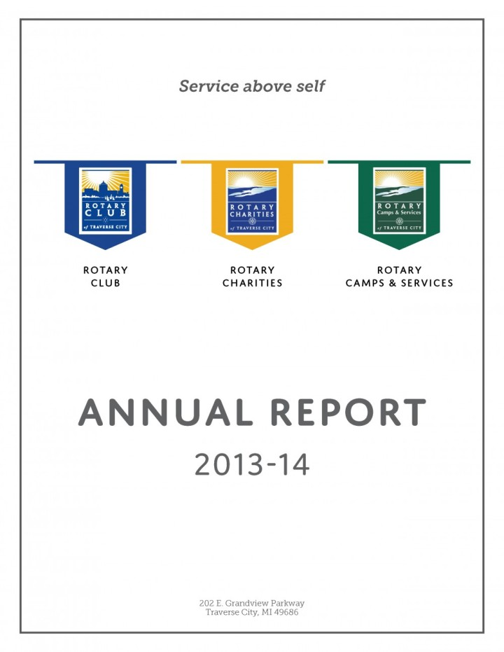 RC Annual Report - Page 1