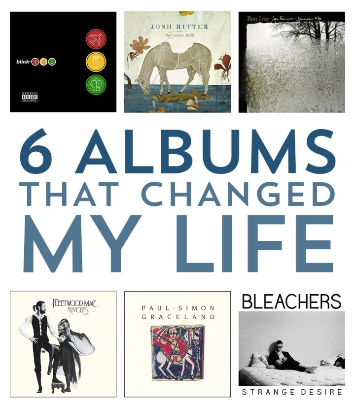 6 albums that changed my life // mostych.com