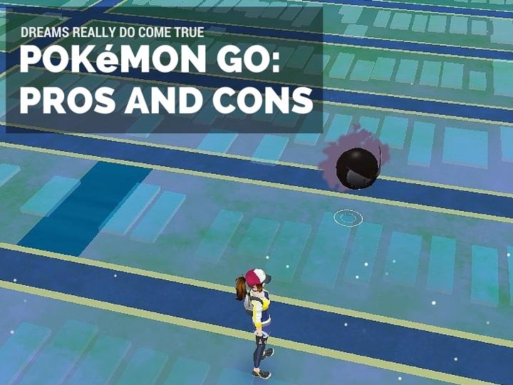 POKéMON GO REVIEW- Pros and cons