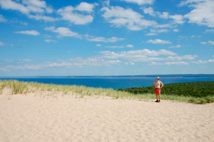 Pyramid Point Hiking in the Summer at Sleeping Bear Sand Dunes - Labor Day Weekend in Northern Michigan, Traverse City, Leelanau - Mo Stych Blog