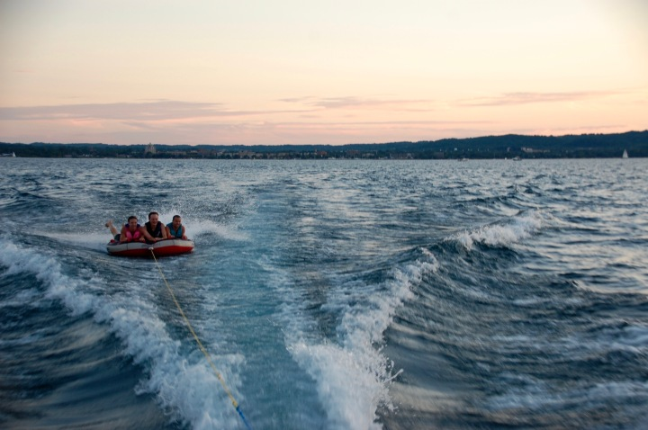 Summer Sunset Boat Cruise on Grand Traverse Bay - Labor Day Weekend in Northern Michigan, Traverse City, Leelanau - Mo Stych Blog