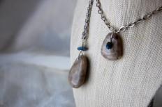 ruth bloomer jewlery photo by mo stych petoskey stone necklace