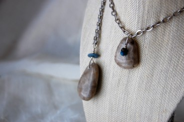 ruth bloomer jewlery photo by mo stych petoskey stone necklace
