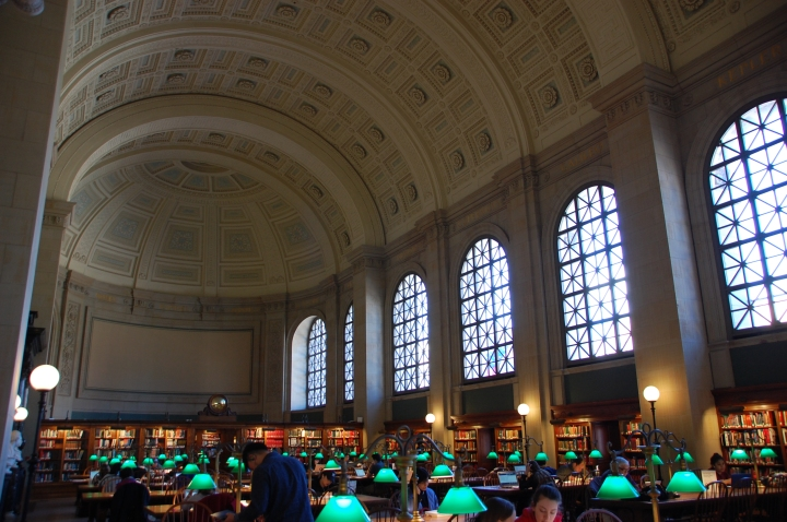 Things to do in Boston - Admiring the Boston Public Library