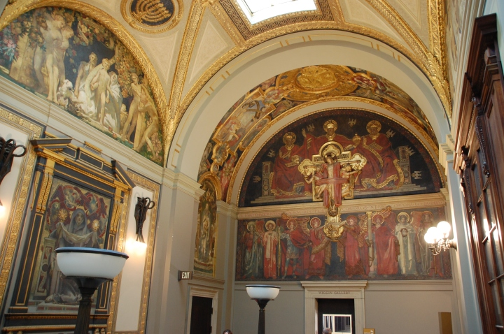 Things to do in Boston - John Singer Sargent Murals at the Boston Public Library