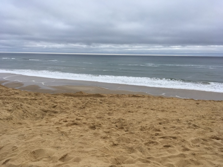 Ragnar Cape Cod - Final leg, ending right at the ocean!