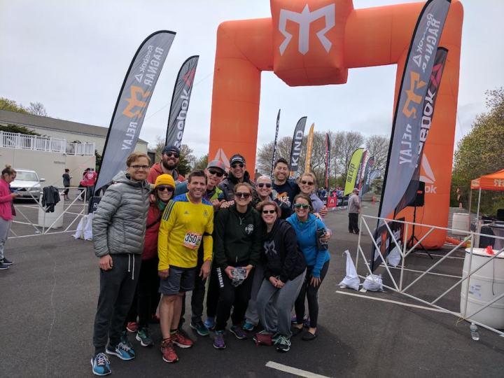 Ragnar Cape Cod - Crossing the finish line
