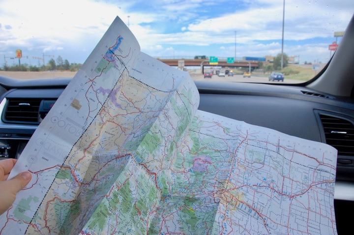 Wayfinding on an epic road trip from Denver to Grand Teton National Park