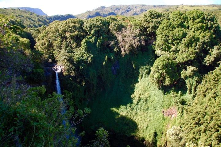 Pipiwai Trail at Haleakala National Park in Maui