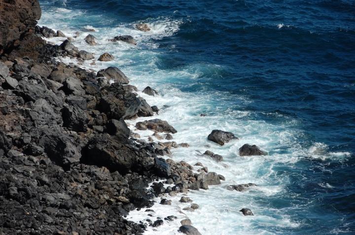 South Road to Hana - Cliff Ocean Overlook
