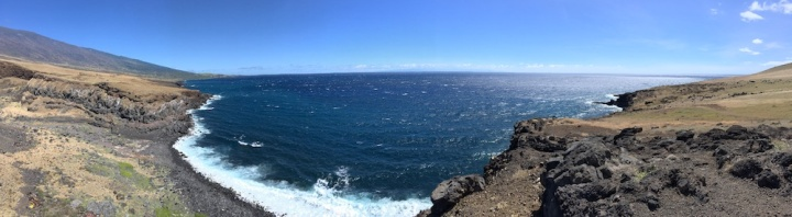South Road to Hana - Ocean Overlook Panoramic