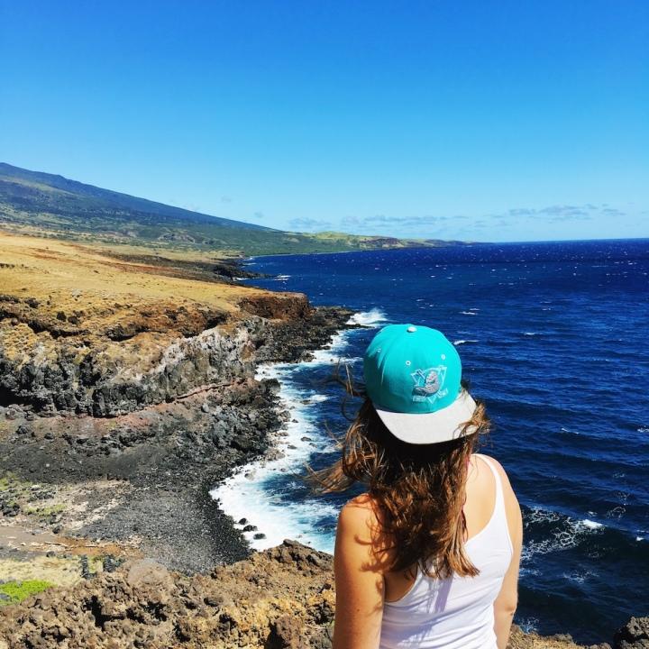 South Road to Hana - Ocean Overlook View