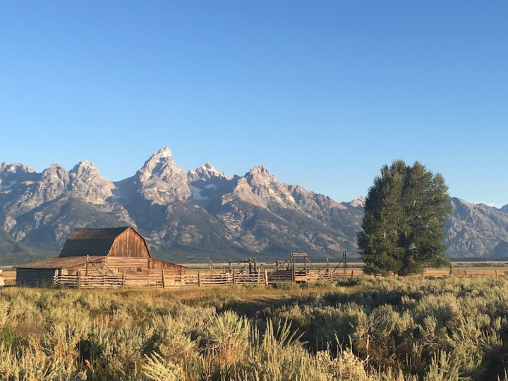 Grand Teton Antelope Flats Sunrise - 6