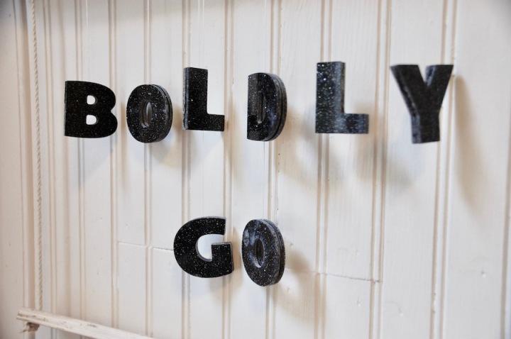 Boldly Go Nursery Space Mobile 2