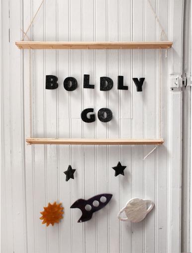 Boldly Go Nursery Space Mobile 4
