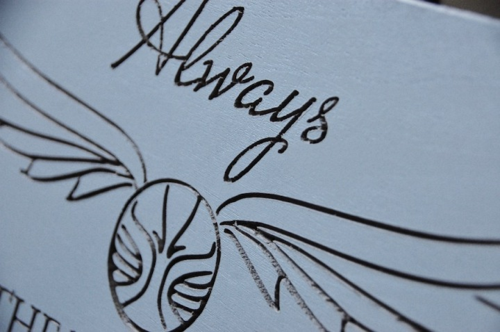 Harry Potter Always Wedding Sign 4