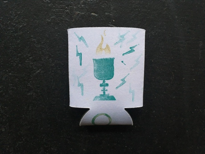 Harry Potter Koozie Wedding Stamps Icons 1