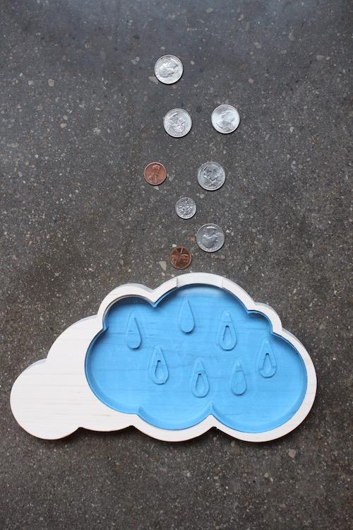 Rainy Day Fund Cloud Piggy Bank 1