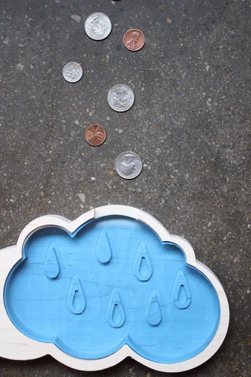 Rainy Day Fund Cloud Piggy Bank 2