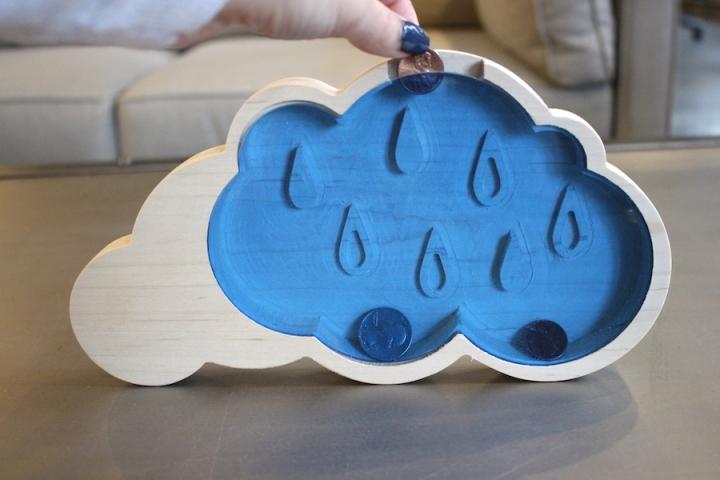 Rainy Day Fund Cloud Piggy Bank 3