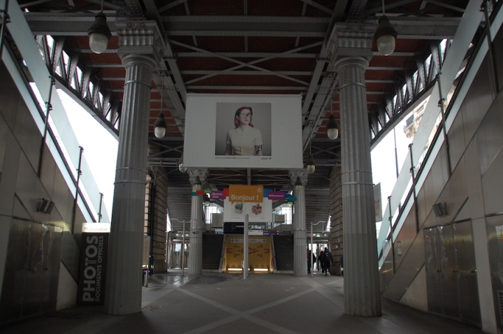 Paris - metro station art