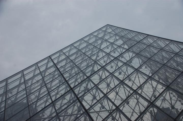 Louvre artistic shot Paris