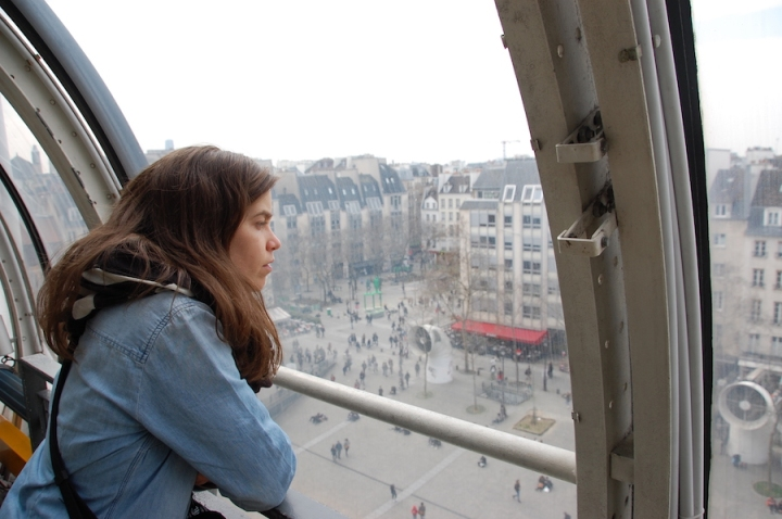 Paris - pompidou centre overlook