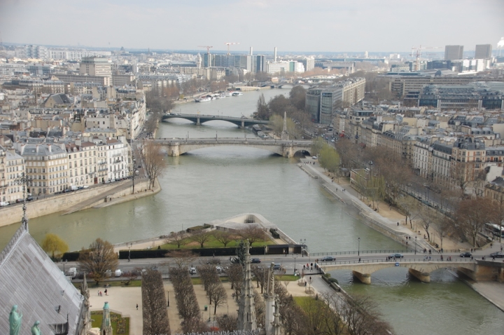 Paris - View of the Seine from Notre Dame