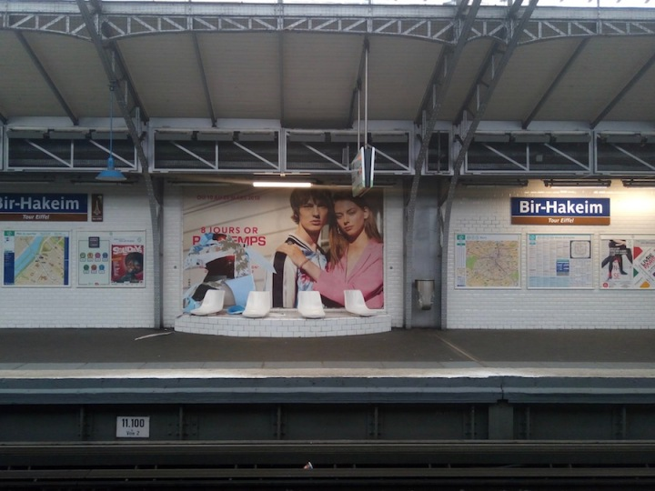Paris - metro station