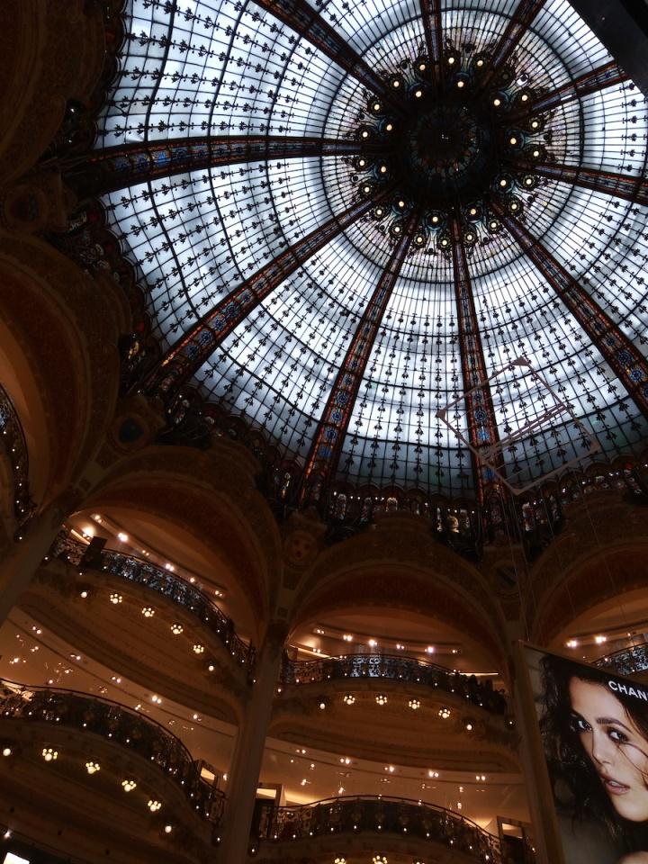 Paris - la galleries lafayette